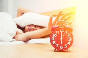 réveil difficile, manque de sommeil