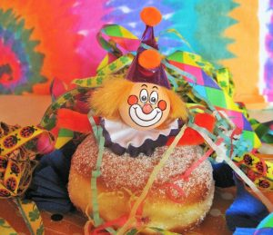 beignet clown